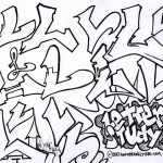 how to draw the letter L in graffiti style