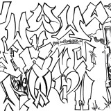 The final stretch! Letter Study: Graffiti letter styled W